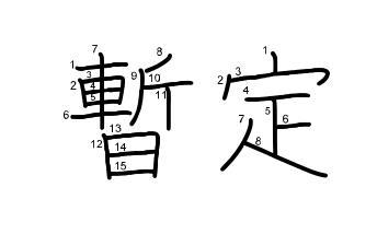 暫定の意味と使い方・類語と例文